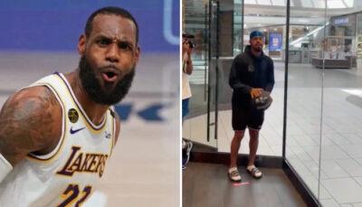 NBA – Un ex-Laker se fait défier au concours de tirs par un fan… au centre commercial !