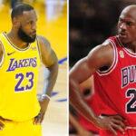 NBA – Un ancien coéquipier de Jordan : « Je ne veux pas le comparer à LeBron »
