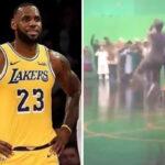 NBA – Une séquence off de Space Jam avec LeBron fait le buzz !