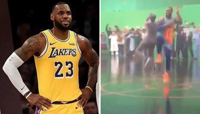 NBA Des images off de Space Jam 2 révélées
