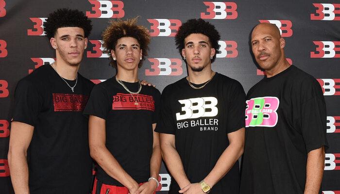 NBA Les frères Ball bientôt ensemble