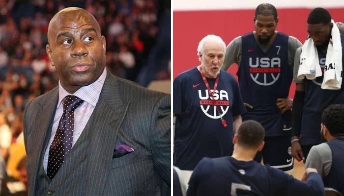 NBA Magic s'emporte contre Team USA