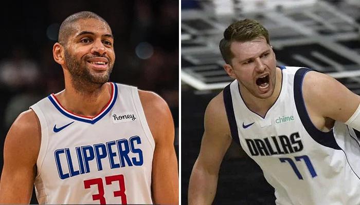 NBA Batum félicite Doncic