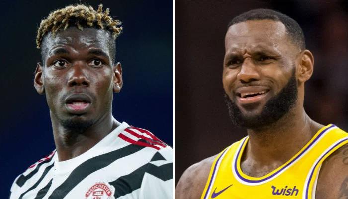 NBA Pogba et LBJ sont détestés