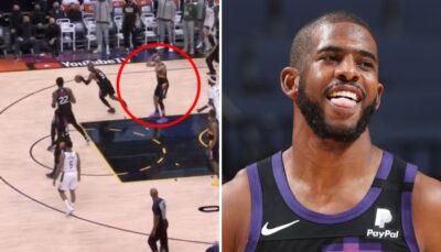 NBA – Devin Booker dépité par Chris Paul à la fin du Game 1 !