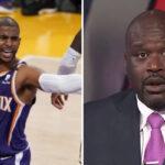 NBA – Le message cash du Shaq pour Chris Paul après la qualif des Suns