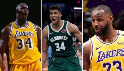 NBA – Malgré la défaite, Giannis rejoint LeBron et Shaq dans l'histoire !