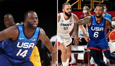 NBA/JO – La demande de Draymond à Lillard après le fiasco contre la France