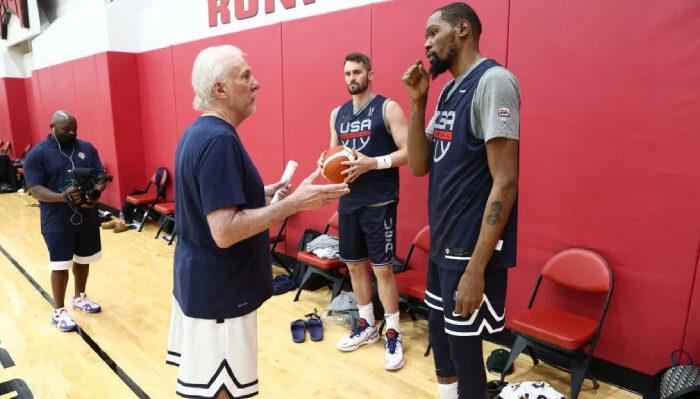 NBA KD s'exprime au sujet de Popovich