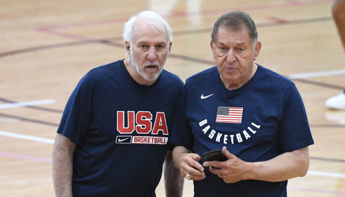 NBA Jerry Colangelo tacle Kevin Love