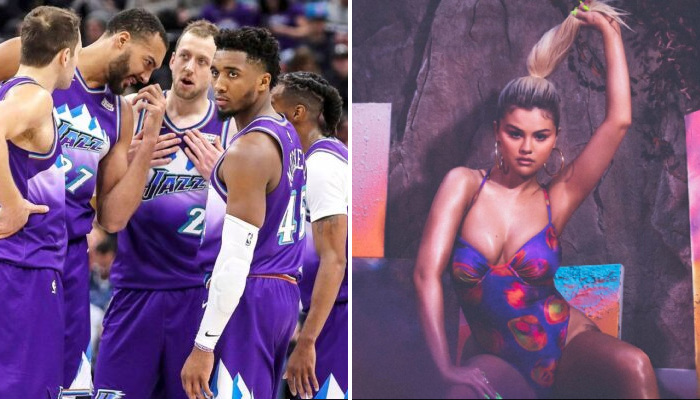 NBA Jordan Clarkson en pince pour Selena Gomez