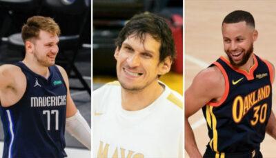 NBA – Boban en mode Steph Curry, Luka réagit !