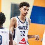 EDF U19 – La France en demie, l'énorme séquence de  Wembanyama en 6 secondes chrono !