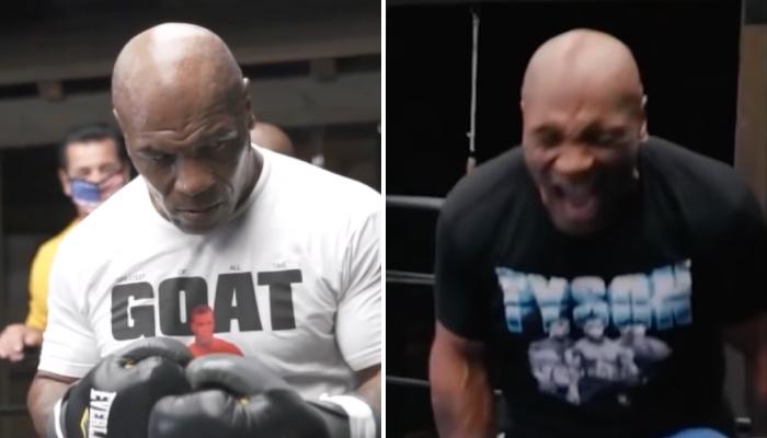 La légende de la boxe, Mike Tyson, a récemment posté une vidéo terrifiante de son entrainement qui impressionne les experts