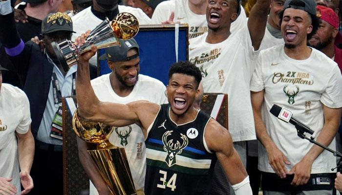 Durant, Gobert ou encore Mitchell : les stars NBA réagissent à la performance de Giannis NBA