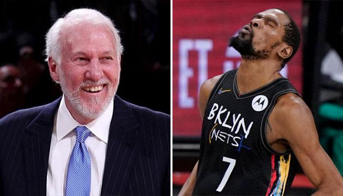 L'hilarant aveu de Gregg Popovich au sujet de Kevin Durant NBA