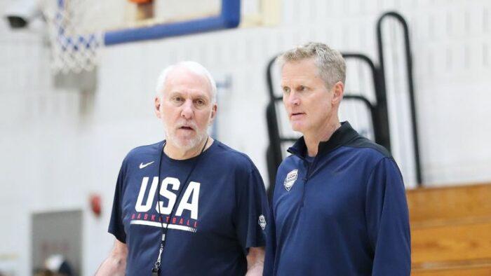 Gregg Popovich et Steve Kerr