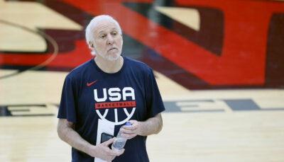 NBA/JO – La première réaction de Gregg Popovich au fiasco face à la France