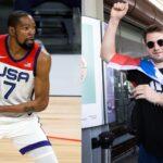NBA  – Luka Doncic humilie Team USA à lui tout seul avec une stat folle