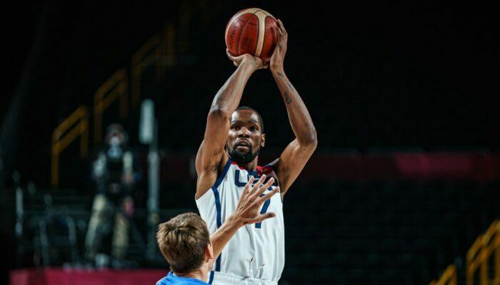 Kevin Durant sous le maillot de Team USA