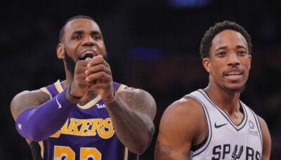 NBA – LeBron James ulcéré par une question sur DeMar DeRozan !