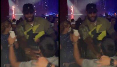 NBA – LeBron James bouscule un fan et crée la polémique !