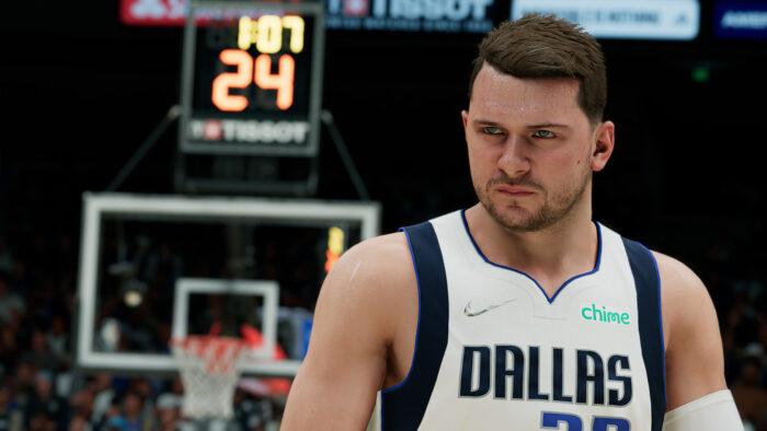Luka Doncic dans NBA 2K22