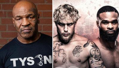 Fight – Mike Tyson donne son pronostic pour Jake Paul vs Tyron Woodley !