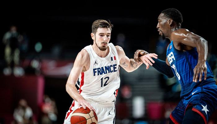 Nando de Colo contre Team USA NBA