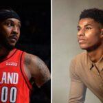 NBA – Melo réagit au message ultra-viral de Marcus Rashford