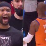 NBA – Cousins craque et insulte Chris Paul en fin de match !