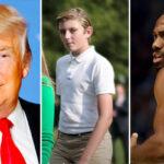 NBA – Barron Trump, 15 ans, fait la taille de Kawhi : la photo dingue qui enflamme les fans