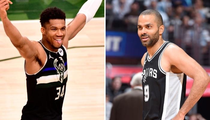 La superstar NBA des Milwaukee Bucks, Giannis Antetokounmpo, a dernièrement imité la légende française des San Antonio Spurs, Tony Parker, grâce à un accomplissement rarissime dans l'histoire de la ligue