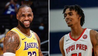 NBA – LeBron adoube la future star de demain !