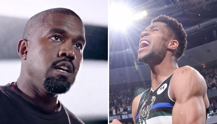 Le célèbre rappeur US, Kanye West a réservé une punchline à la superstar NBA des Milwaukee Bucks, Giannis Antetokounmpo, dans so dernier album « Donda »