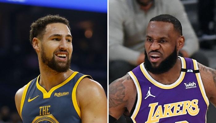 La star NBA des Golden State Warriors, Klay Thompson, a récemment volé la vedette au leader des Los Angeles Lakers, LeBron James, dans le cadre de la sortie au cinéma de Space Jam : Nouvelle Ère
