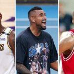 NBA – Nick Kyrgios lâche un avis polémique sur LeBron vs Jordan !