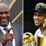 NBA – Shaq réagit très fortement au titre gagné par Giannis