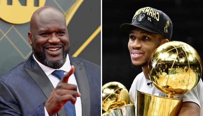 La légende NBA Shaquille O'Neal a livré une grosse réaction suite au titre de champion obtenu par la superstar des Milwaukee Bucks, Giannis Antetokounmpo