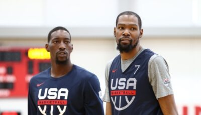 NBA – KD et Bam s'écharpent avec Team USA puis sur les réseaux, la star des Nets réagit !