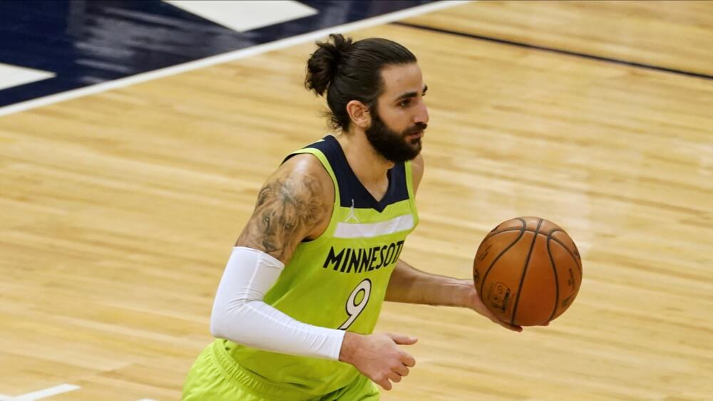 Ricky Rubio aux Wolves