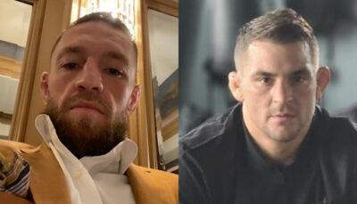 UFC – Conor McGregor blessé avant le combat ? Dustin Poirier lui répond cash !