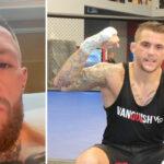 UFC 264 – Conor McGregor répond cash à Dustin Poirier… depuis l'hôpital !