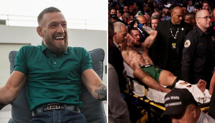 La superstar de l'UFC, Conor McGregor, accusé d'avoir fourvoyé fans et observateurs avec ses récents propos concernant sa blessure au tibia