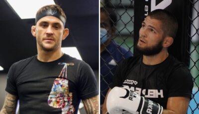 UFC – Khabib envoie un giga-shot gratuit contre Dustin Poirier !