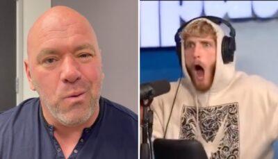 Fight – Logan Paul révèle la proposition dingue que lui a faite le boss de l'UFC !