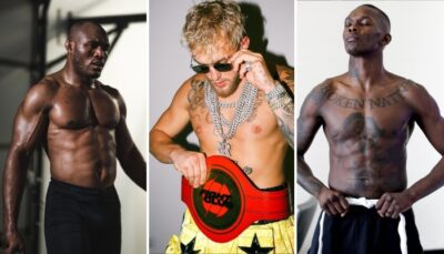 Fight – Adesanya,  Usman : les stars réagissent au combat Jake Paul vs Tyron Woodley