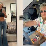 Fight – Les photos « hot » de la copine de Jake Paul enflamment Insta après le combat !