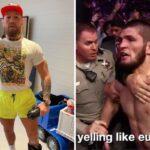 UFC – Conor McGregor incendie Khabib… et parle encore de son père !