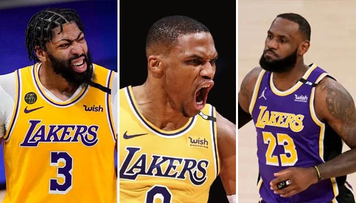 NBA AD, Russ, et le King pas contents